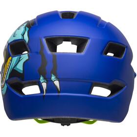 Bell Sidetrack Helmet Kinder t-rex matte blue